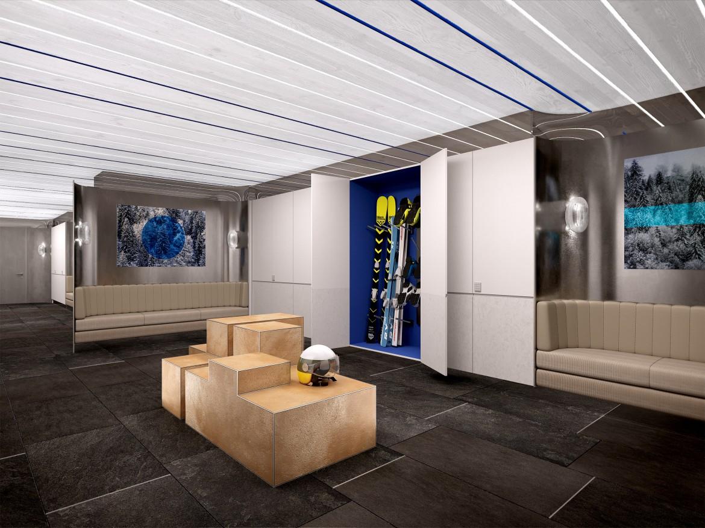 Kneiss - Ski Room